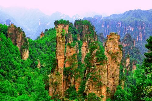 天子山自然保护区
